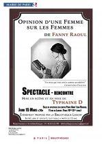 Opinion dune femme sur les femmes Affiche